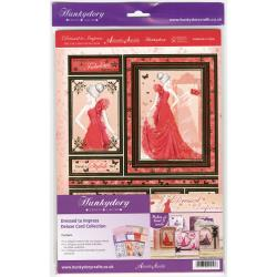 Hunkydory Deluxe A4 Card Collection Feminine Dressed To Impress