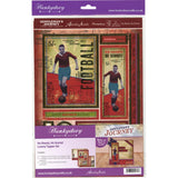 Hunkydory Gentleman's Journey A4 Topper Set - He Shoots, He Scores!
