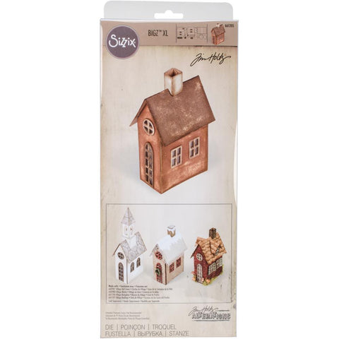 "Village Brownstone - Sizzix Bigz XL Die By Tim Holtz 6""X13.75"