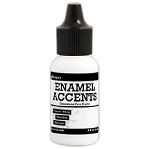 Enamel Accents .5oz - Glacier White