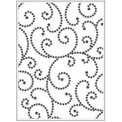 Gem Swirl Embossing Folder