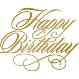 Happy Birthday Hotfoil Stamp  - AG & CO