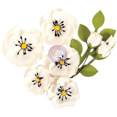 Prima Marketing Flowers - Blackthorn, 9/Pkg