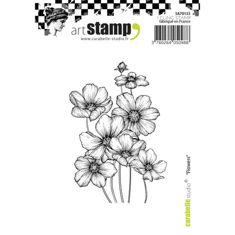 Carabelle Studio Cling Stamp A7 - Flowers