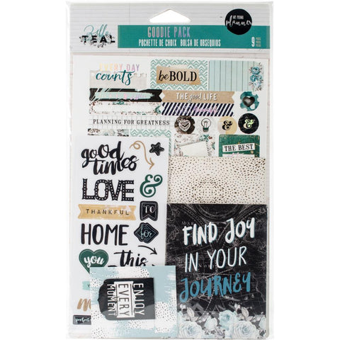 My Prima Planner Goodie Pack Embellishments - Zella Teal