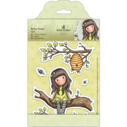 Santoro's Gorjuss Rubber Stamps - The Little Leaf