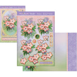 Hunkydory Floral Favorites A4 Decoupage Set -Blooming Bouquet
