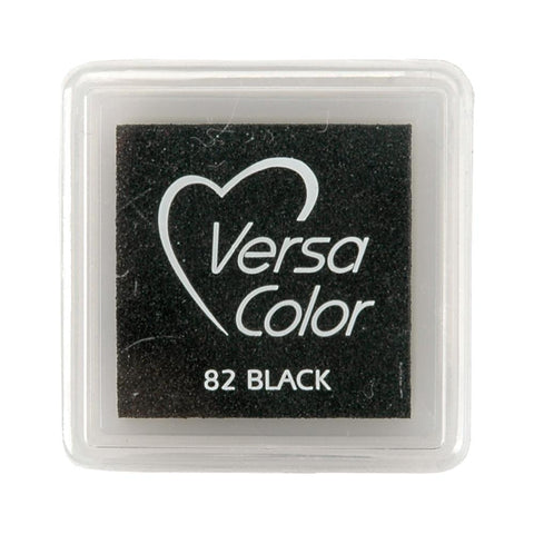 "VersaColor Pigment Mini Ink Pad Black 1"" pad"