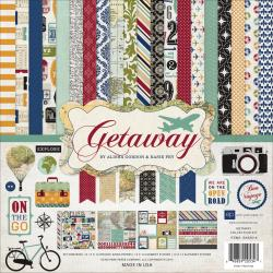 "Getaway - Echo Park Collection Kit 12""X12"""