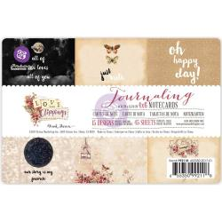 Love Clippings - Prima Marketing Journaling Notecards