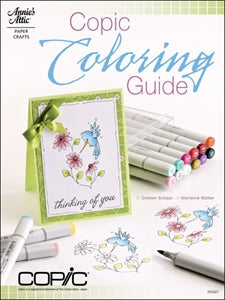Annie's Books Copic Coloring  Guide : Level 1: Basics