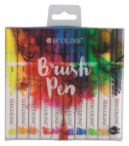 Ecoline Brush Pen- set of 10