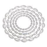 Lacy Scallop Circles  Dies - set of 5