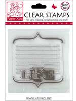 Life journalling box clear stamp