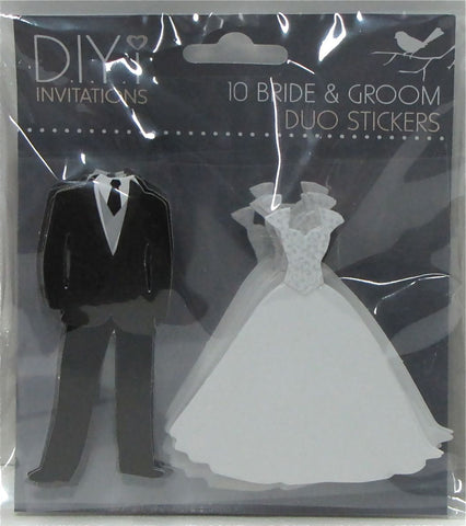 Bride & Groom Duo Stickers