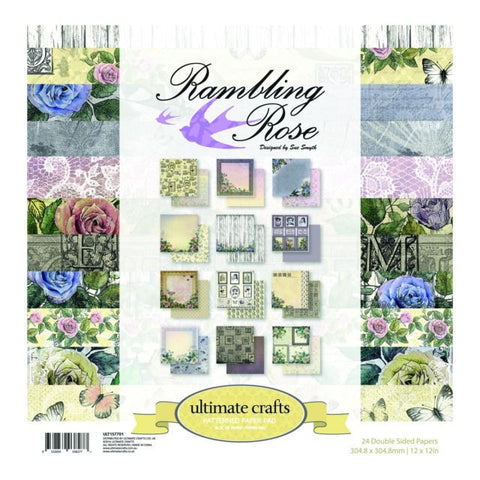 Rambling Rose 12 x12 Patterned Paper pad