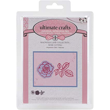 Magnolia Lane Collection: Rose Cutting Die