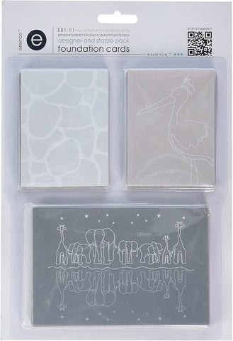 Empire Bebe Foundation Cards -  Designer and Staple Pack,