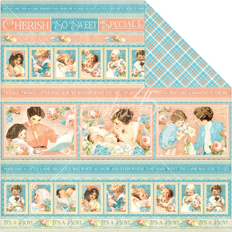 Graphic 45 -Cuddle Time- Precious Memories Collection