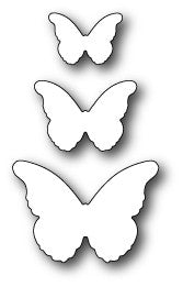 Cascadia Butterfly Trio craft dies