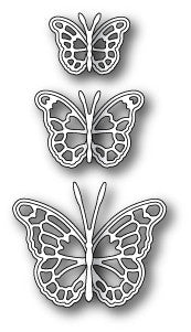 Leavenworth Butterfly Trio craft die