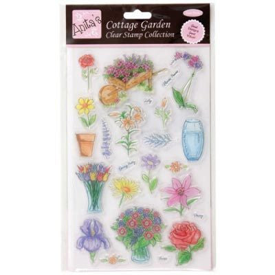 Anita's Cottage Garden clear Stamp Collection