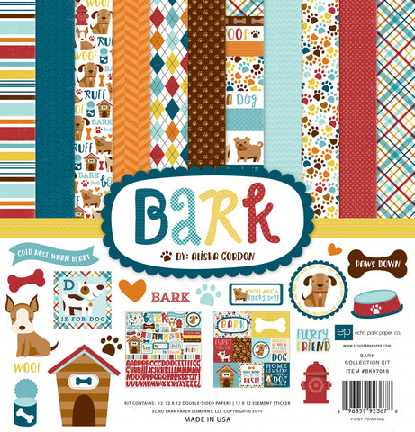 "Bark - Echo Park Collection Kit 12""X12"""