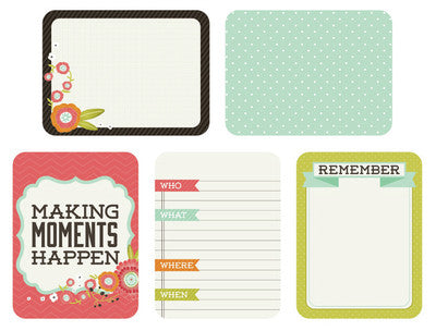 Captured Moments 3 x 4 Card Pack - Favourite Things