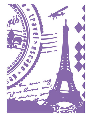 Grand Paris - Ambassador Collection - 5 x 7 inch Embossing Folders
