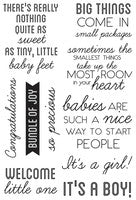 Little One Clear Acrylic Stamp