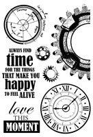 Time Machine Clear Acrylic Stamp