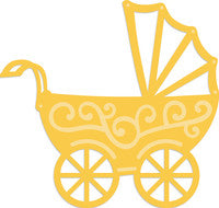 Decorative Die Pram  Die