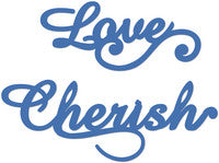 Love and Cherish Decorative Die