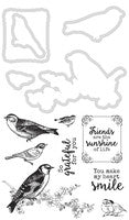 Feathered Friends die and Stamp set