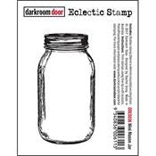 Mini Mason Jar Eclectic Stamp
