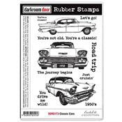 Classic Cars Rubber Stamp Set