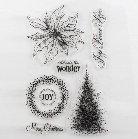 Christmas Stamp Set- Celebrate the wonder