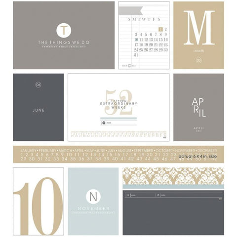 EAST COAST BUILDING CARDS- SMALL AND LARGE CALENDAR PACK