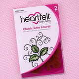 Classic Rose Leaves Stamp and Die Combo Heartfelt Creations