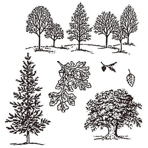 Trees Stamp Set