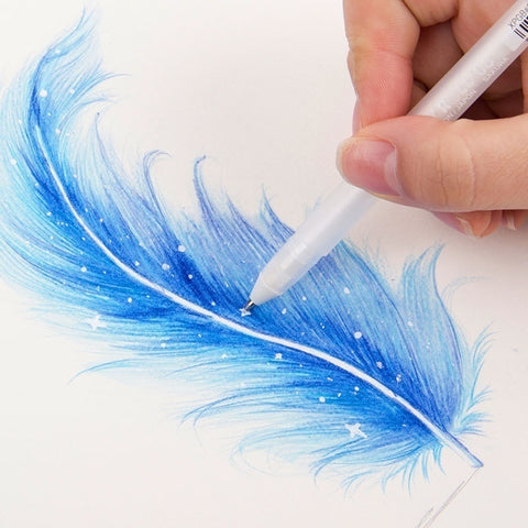 Gel Pen - 0.8mm - Touchten