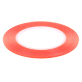Red High Strength Red Acrylic Gel Adhesive Double Sided Tape - 25m