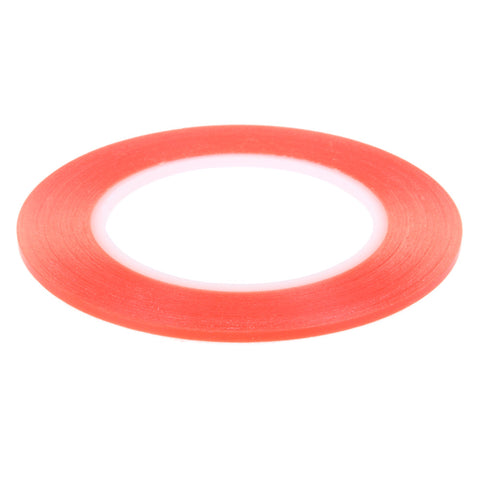 Red High Strength Acrylic Gel Adhesive Double Sided Tape - 25m