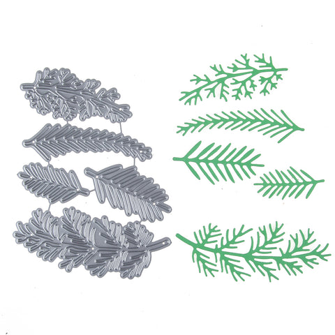 Set of 5 Christmas Foliage Dies