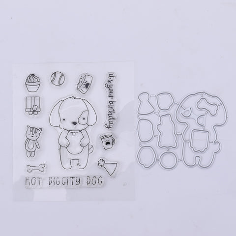 Doggy Stamp and Die Set
