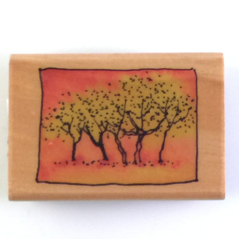 Autumn Wood Mounted