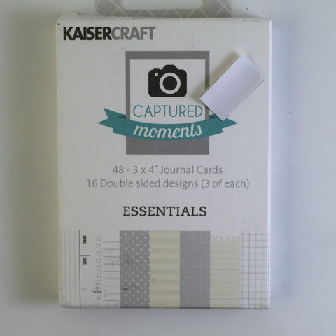 Captured Moments 3 x 4 Card Pack - Essentials