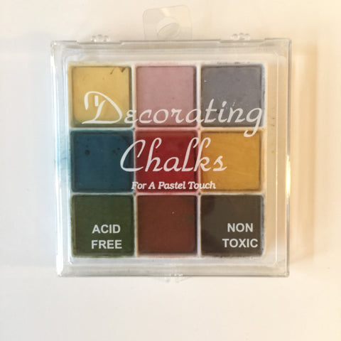 Decorating and Blending Chalks