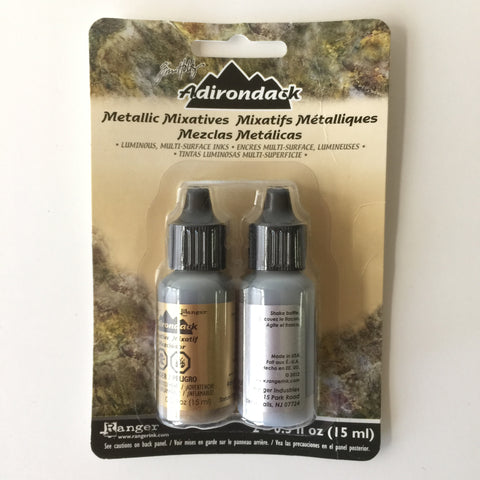 Tim Holtz Adirondack Metallic Alcohol Inks