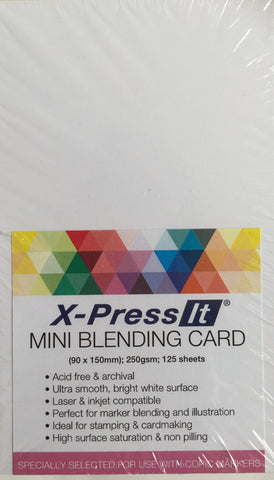 Blending Card - MINI - 125pk -  X-press It
